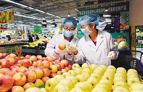 首都食品安全检测已经初步实现全覆盖